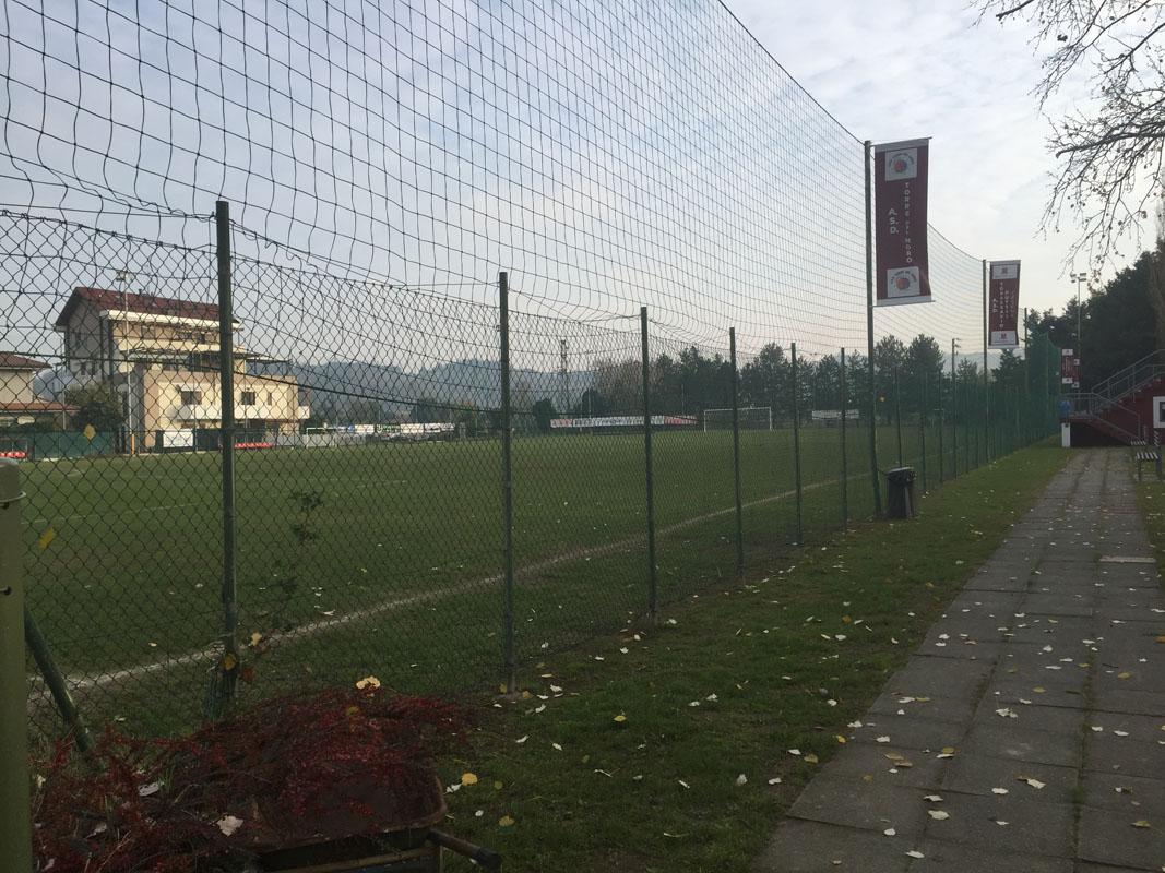 Uno scorcio del campo di Villarco.